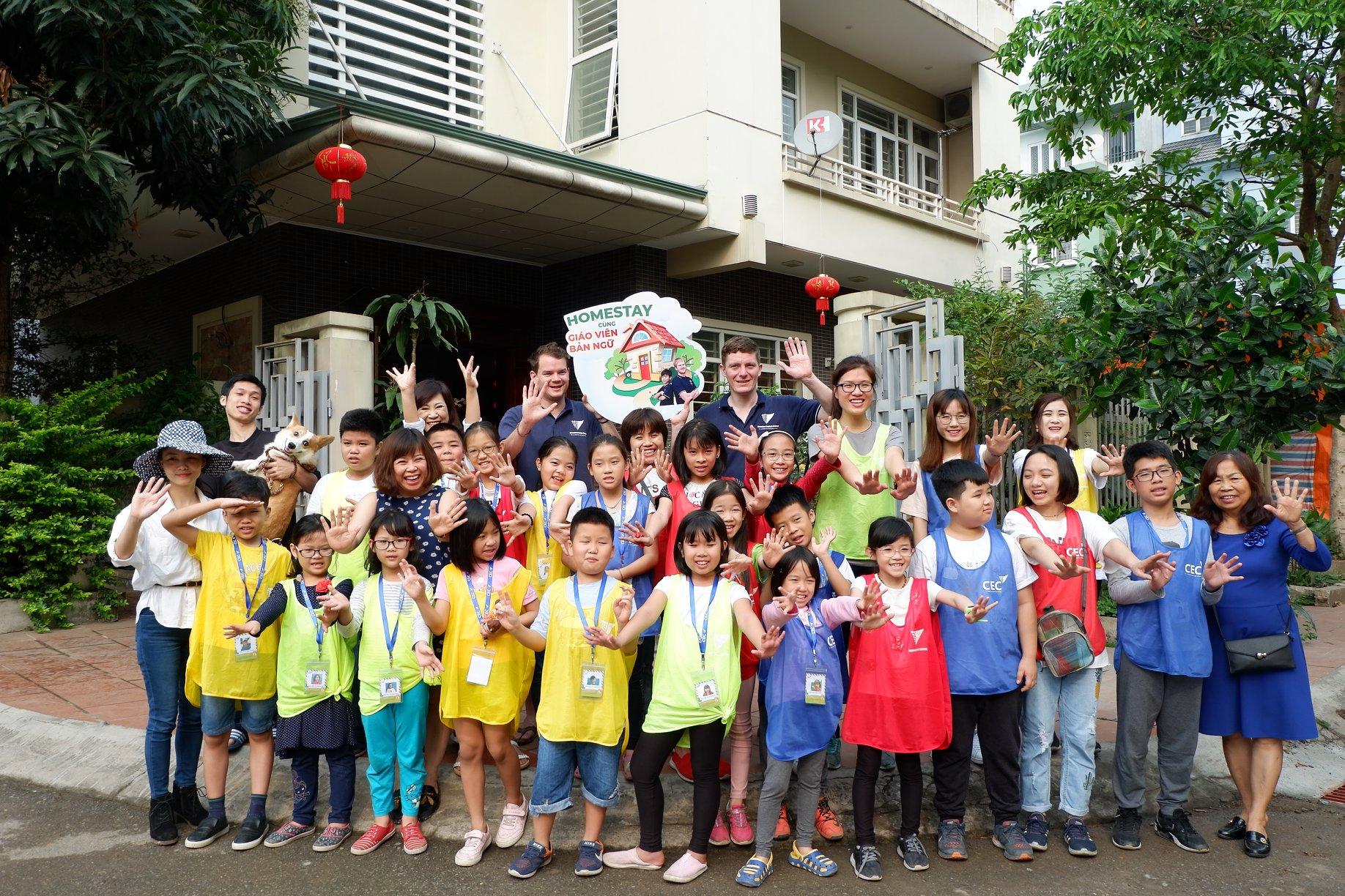 CEC trung tâm tiếng anh trẻ em chất lượng cao tại Hà Nội